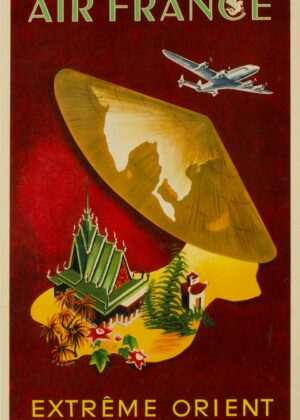 Affiches voyage Editions Air France