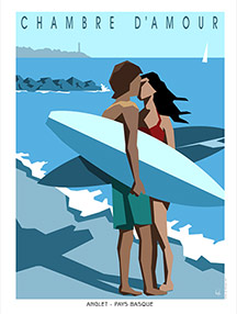 Affiches surf Editions Gil